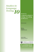 Front cover of Studies in Language Testing – Volume 10