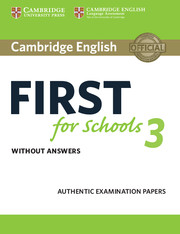 B2 First for Schools preparation | Cambridge English