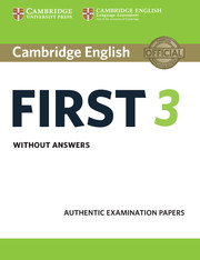 First Practice Tests 2