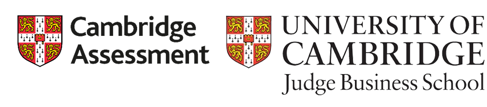 cambridge assessment and judge business school logos