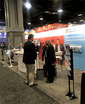 NAFSA 2019 stand image for news story