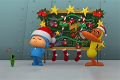 Pocoyo at Christmas