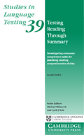 Front cover of Studies in Language Testing – Volume 39
