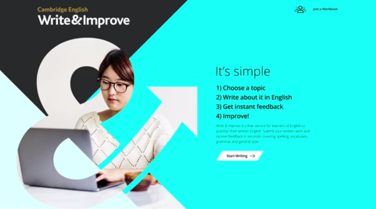 Cambridge English Write  Improve