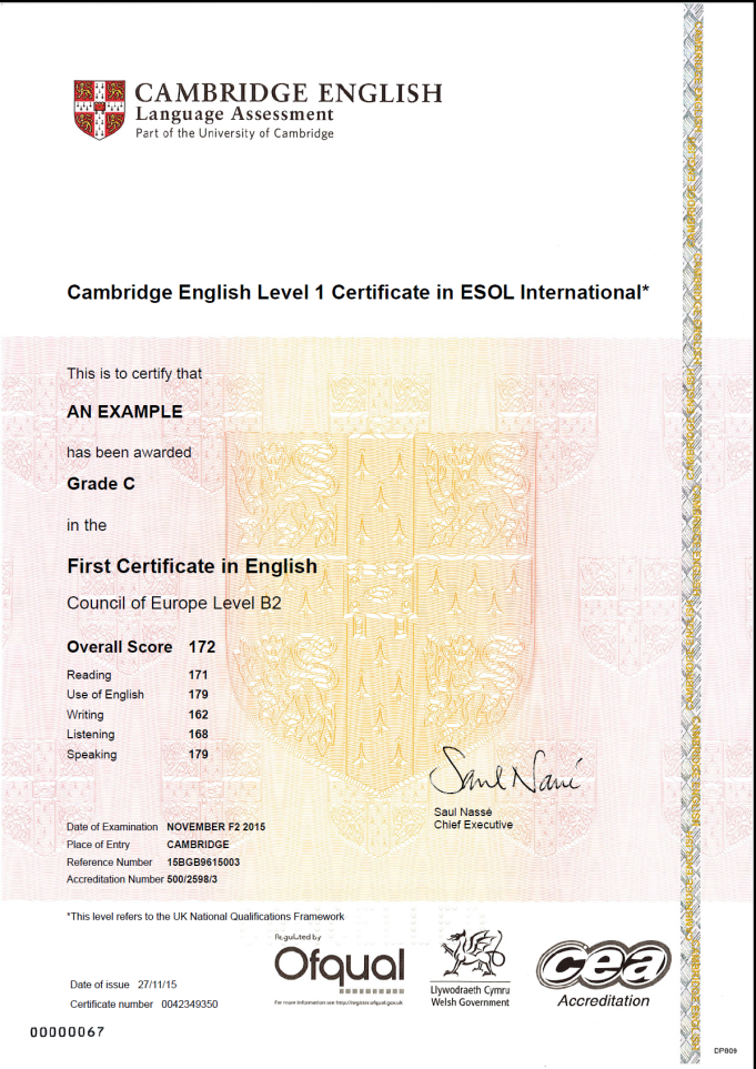 Cambridge English für Ihren Lebenslauf | Cambridge English