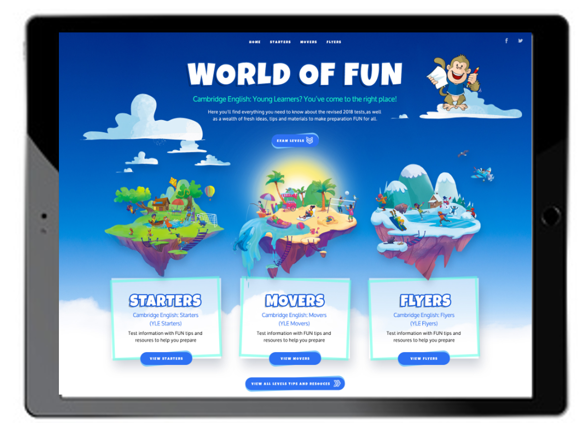 World of Fun - Ipad Image