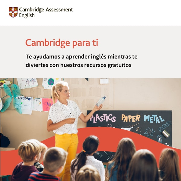 24.01.2017- Cambridge para ti Students main image