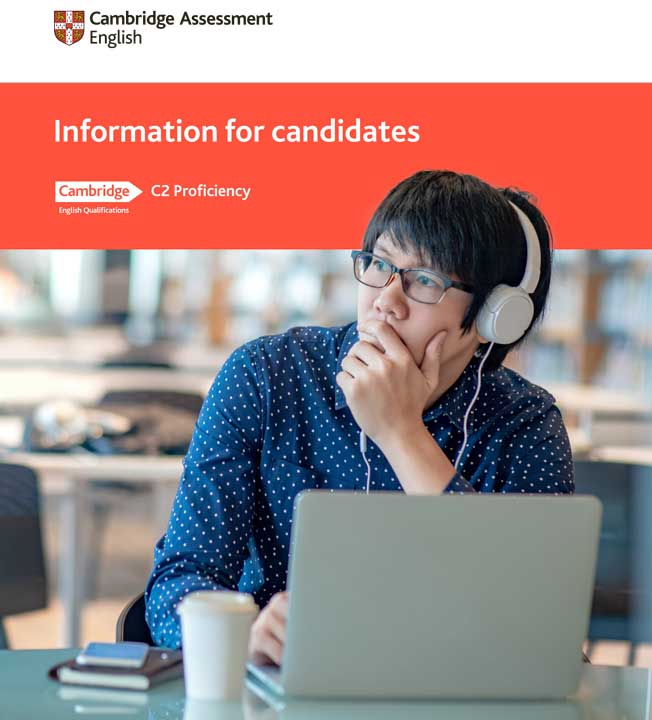 C2 proficiency information for candidates booklet