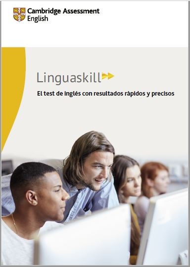 Linguaskill A4 Spanish Brochure