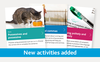 new free learning activities added