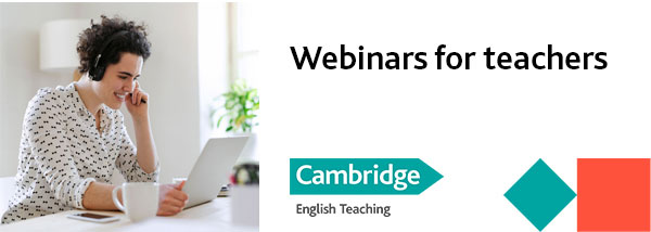 Webinars for teachers