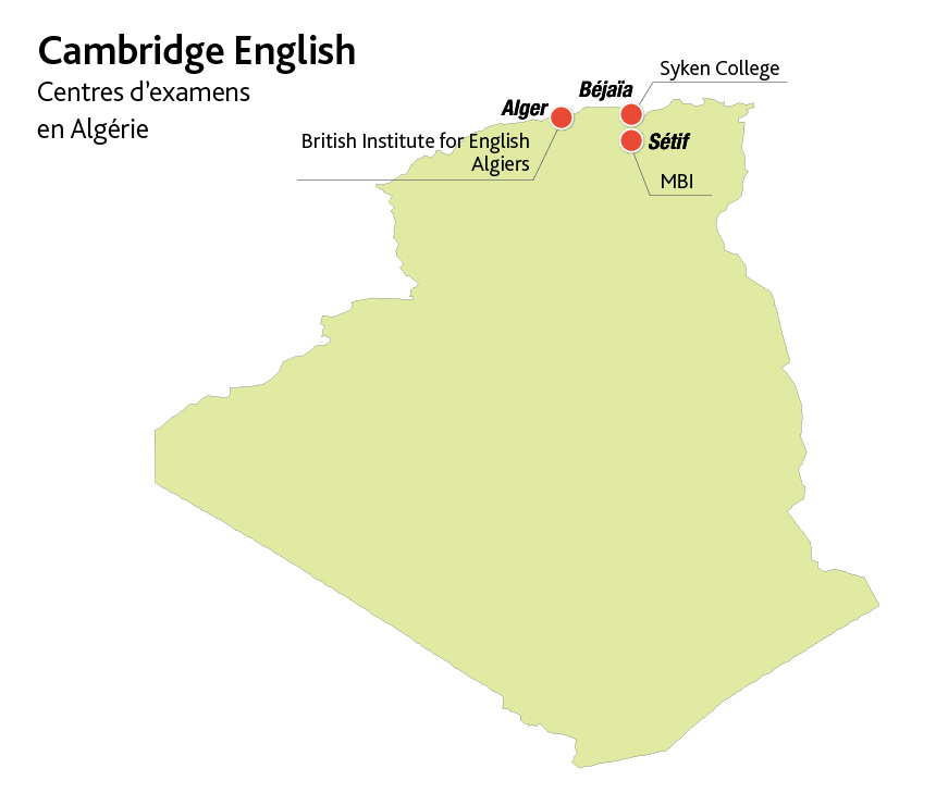 Cambridge-English-Carte-Centres-Examens-Algerie