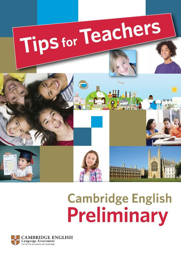 Tips for teachers Preliminary Cover