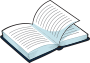 Open book icon - Image