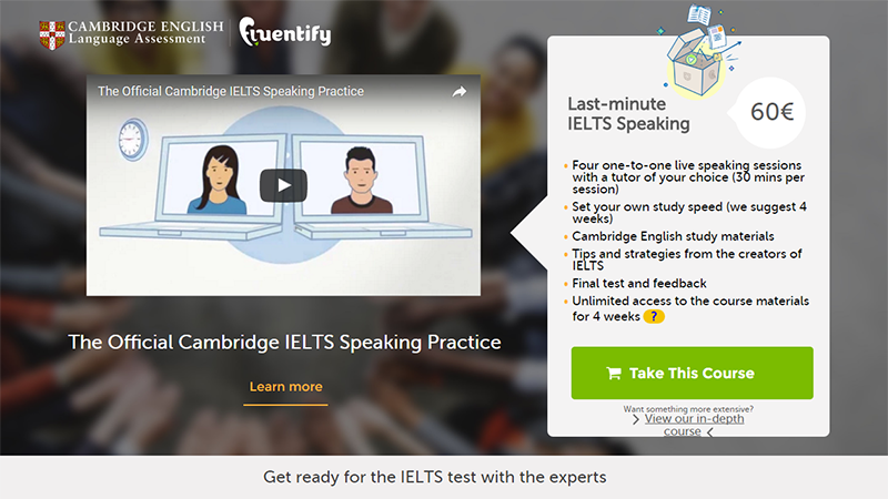 Official Cambridge IELTS Speaking Practice
