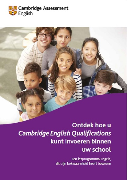 Cambridge English Qualifications Scholen - Brochure voor docenten