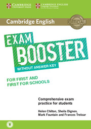 B2 First for Schools Exam Booster