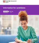 B2 First for Schools Information for Candidates