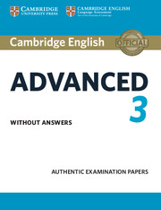 Cambridge English: Advanced 2