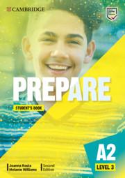 A2 Key for Schools - Prepare Level 3
