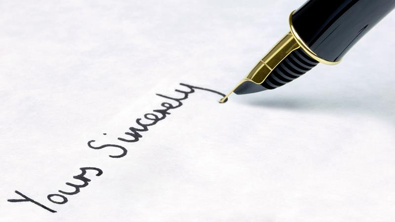 How to write a formal letter Learning English – Letter Writing